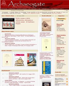 Archaeogate, The Italian Archaeology Portal